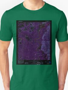 USGS TOPO Map Alabama AL Prestwick 304895 1983 24000 Inverted Unisex T-Shirt