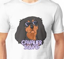 CAVALIER SQUAD (black and tan) Unisex T-Shirt