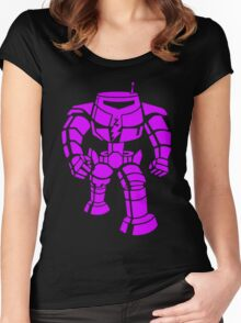 Manbot - Purple Variant Women's Fitted Scoop T-Shirt