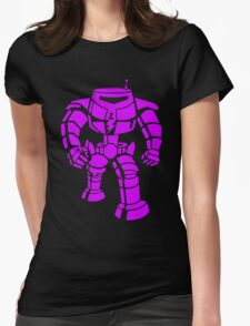 Manbot - Purple Variant Womens Fitted T-Shirt