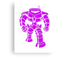 Manbot - Purple Variant Canvas Print