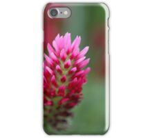 Crimson Clover iPhone Case/Skin