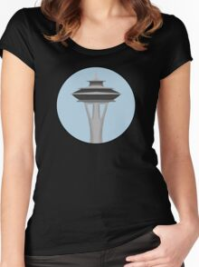 The Needle Women's Fitted Scoop T-Shirt