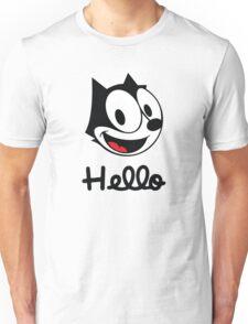 The cat named felix Unisex T-Shirt
