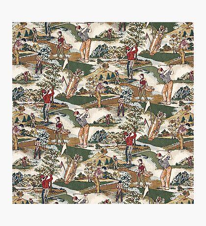Fabric Art, Golfers Delight Photographic Print
