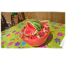 Summer Fun, Watermelon Shark. Poster