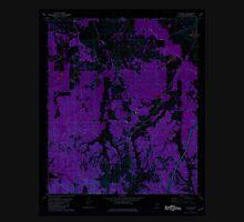USGS TOPO Map Alabama AL Calhoun 303395 1981 24000 Inverted Unisex T-Shirt