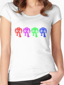 Manbot - Multi Variant Women's Fitted Scoop T-Shirt