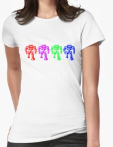 Manbot - Multi Variant Womens Fitted T-Shirt