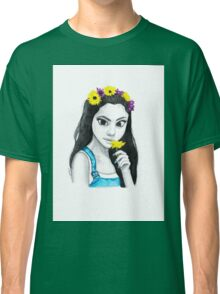 Selena Flower Crown Classic T-Shirt