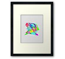 Daft Punk'd: Derezzed_04 Framed Print