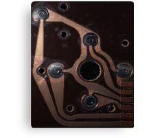 Retro Video Game Joystick PCB Board Canvas Print