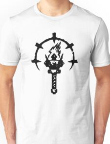 Iron Crowned Torch Unisex T-Shirt
