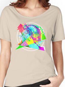 Daft Punk'd: Derezzed_04 Women's Relaxed Fit T-Shirt