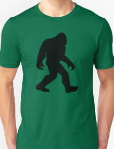 Classic Bigfoot Silhouette Unisex T-Shirt