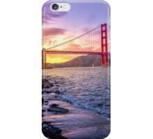 Golden Gate Sunset iPhone Case/Skin