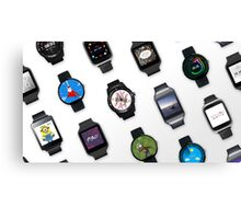 Smart Watches Canvas Print