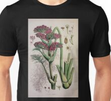 The botany of the Antarctic voyage of H M  discovery ships Erebus and Terror in the Years 1839 1843 Joseph Dalton Hooker V1 175 Unisex T-Shirt