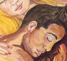 Sleeping Lovers Sticker