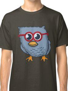Red Eyeglasses Owl Classic T-Shirt