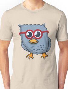 Red Eyeglasses Owl Unisex T-Shirt