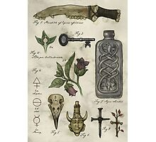 (Super)natural History - Hunter's artefacts Photographic Print