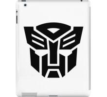 Auto (Simple Black Theme) iPad Case/Skin