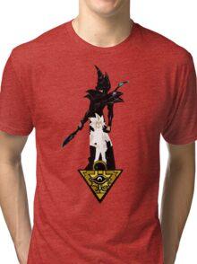 """""""Yu-Gi-Oh"""" Fan Art (Yugi Muto / Dark Magician) Tri-blend T-Shirt"""