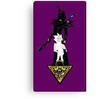 """Yu-Gi-Oh"" Fan Art (Yugi Muto / Dark Magician) Canvas Print"
