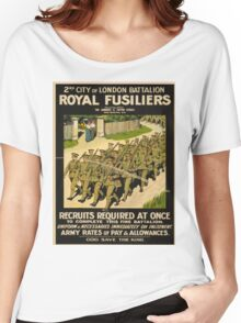 Vintage poster - British Military Women's Relaxed Fit T-Shirt