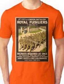 Vintage poster - British Military Unisex T-Shirt