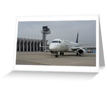 Tower & Embraer Greeting Card