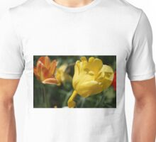 Yellow Tulip with Friends Unisex T-Shirt