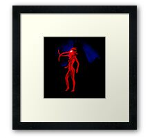 My Walking In My Shoes -Girl 3- Framed Print