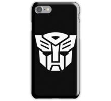 Auto (Simple White Theme) iPhone Case/Skin