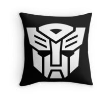 Auto (Simple White Theme) Throw Pillow