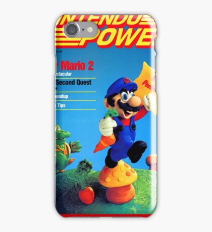 Nintendo Power - July/August 1988 iPhone Case/Skin