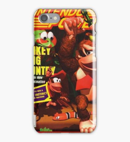 Nintendo Power - Volume 66 iPhone Case/Skin