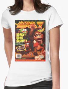 Nintendo Power - Volume 66 Womens Fitted T-Shirt