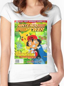 Nintendo Power - Volume 125 Women's Fitted Scoop T-Shirt