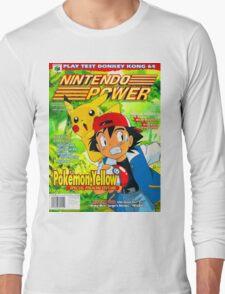 Nintendo Power - Volume 125 Long Sleeve T-Shirt