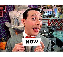 Pee Wee Herman - NOW Photographic Print