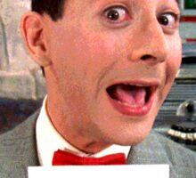 Pee Wee Herman - NOW Sticker