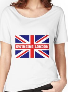 SWINGING LONDON Women's Relaxed Fit T-Shirt