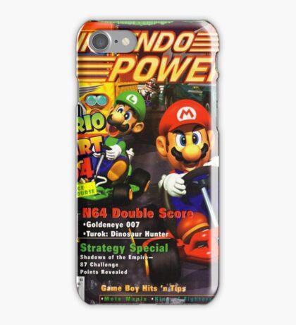 Nintendo Power - Volume 93 iPhone Case/Skin
