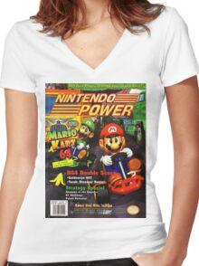 Nintendo Power - Volume 93 Women's Fitted V-Neck T-Shirt