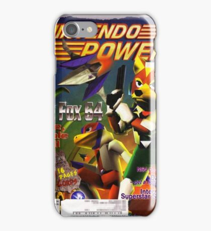 Nintendo Power - Volume 98 iPhone Case/Skin