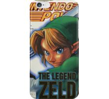 Nintendo Power - Volume 114 iPhone Case/Skin