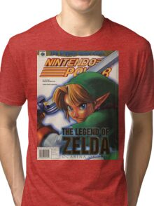 Nintendo Power - Volume 114 Tri-blend T-Shirt