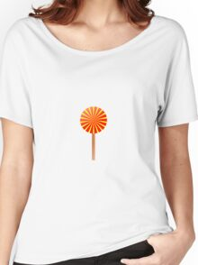 Kids Candy Lollipop graphic Women's Relaxed Fit T-Shirt